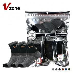 폴턴 V존 남성 등산 중목 양말 PVC 3족 세트 이미지