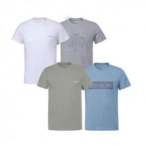 [아테스토니] 남여 공용 베이직 언더셔츠 4종 A PACK 최신상 이미지