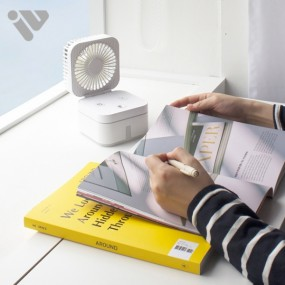 휴대용 에어미스트 3IN1★선풍기+가습기+무드등이 하나로!!★ 4계절 사용 가능 이미지
