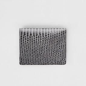 보닌 천연소가죽 유니크 크록 컴팩트 미니중지갑 CPL065DGR 이미지