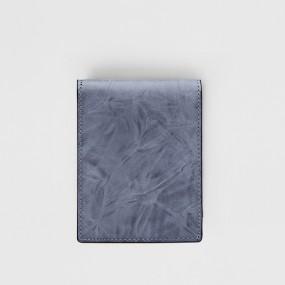 보닌 천연소가죽 투톤 링클 워싱 컴팩트 미니반지갑 CPL063SBL 이미지
