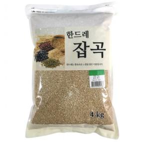 [월드그린] 한드레 5분도쌀눈현미 4kg 이미지