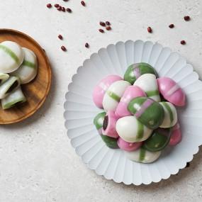 [미미의 밥상] 굳지않는 떡 반달떡 백미 1kg+쑥 1kg+고구마 1kg 이미지