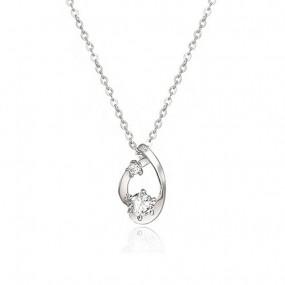 [로안] 리비안 천연 다이아몬드 실버 목걸이 S3302/SILVER 925/고급케이스 이미지