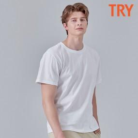 [아라쇼X도깨비][트라이] 코튼 베이직 라운드 티셔츠 5종 패키지 이미지