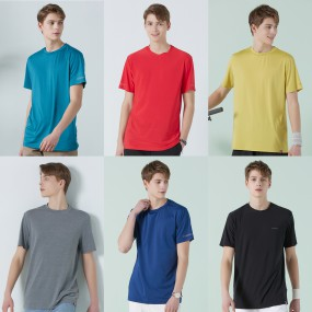 [파르티망] 코지 썸머 기능성 남성 티셔츠 6종 세트 이미지
