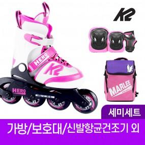 K2 히어로 걸 어린이 아동 인라인 스케이트+가방+보호대 신발항균건조기 휠커버 외 이미지