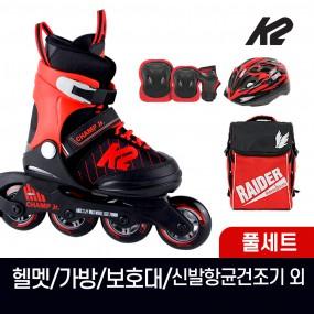 K2 챔프 보이 어린이 아동 인라인 스케이트+가방+보호대+헬멧+신발항균건조기 휠커버 외 이미지