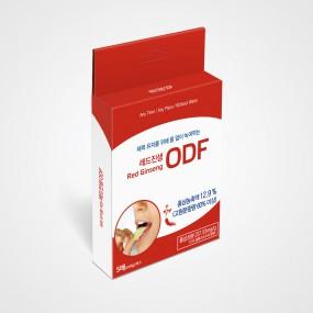 [라보타치] 레드진생 ODF 5매_홍삼성분 함유 녹여먹는 필름형 피로회복제 이미지