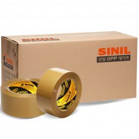 신일기업 박스테이프 중포장 황색 80m 40개 이미지