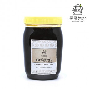 [풋풋농장 강원규] 천연 밤꿀(플라스틱통) 1.2kg 이미지