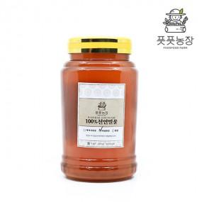 [풋풋농장 강원규] 천연 잡화꿀(플라스틱통) 2.4kg 이미지