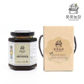 [풋풋농장 강원규] 천연 밤꿀 / 선물용(유리병) 350g 이미지