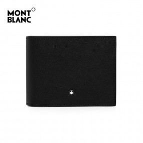 [Montblanc] 사토리얼 6cc 뷰 포켓 반지갑(블랙)  _ 113220 이미지