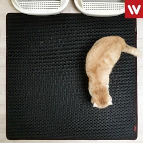 고양이 모래 매트 대형 / 사막화 방지 / 화장실매트 이미지