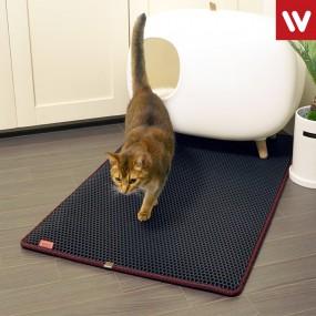 고양이 모래 매트 중형 / 사막화 방지 / 화장실매트 이미지
