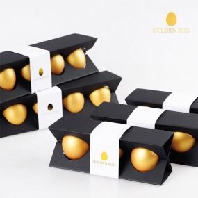 [채담]맥반석에 구운 황금란 선물세트(3구+3구) 이미지