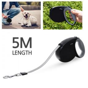 모던펫 강아지 베이직 자동줄 5m (테이프형) / 강아지목줄 이미지
