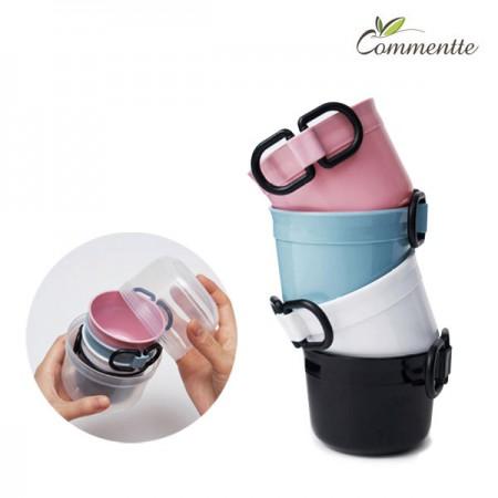 [정오의 특가][꼬망뜨] BPA Free 국내생산 휴대용 미니컵 4종세트 (캠핑/차박)
