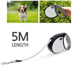 모던펫 강아지 클래식 자동줄 5m (테이프형) / 강아지목줄 이미지