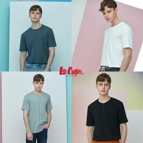 [리쿠퍼] 쿨 썸머 코튼 모달 티셔츠  4종 세트 (남녀 선택) 이미지
