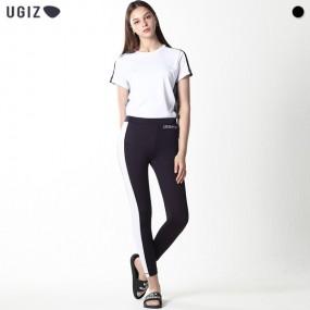 [UGIZ] 컬러 블로킹 라인 레쉬가드 팬츠 (남녀공용) 이미지