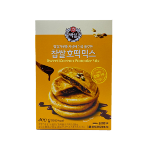 [아자마트][행사]맛있는 호떡 집에서도 가능 CJ 백설 찹쌀 호떡믹스 400g 이미지