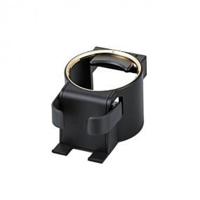 송풍구에 설치하는 컵홀더 겸용 스마트폰 거치대 골드 P-CARDH01GD 이미지