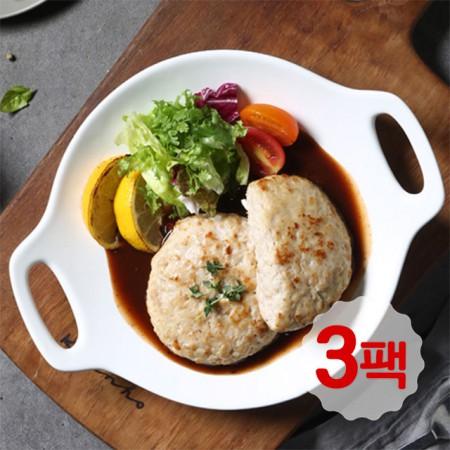 [정오의 특가] 치킨 함박스테이크 오리지날 200g 3팩