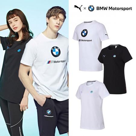 [PUMA] NEW 푸마 BMW 모터스포츠 로고 반팔티셔츠 남여 3종택1 이미지