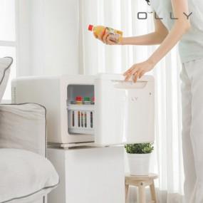 OLLY 올리 저소음 소형 냉장고 OLR02 이미지