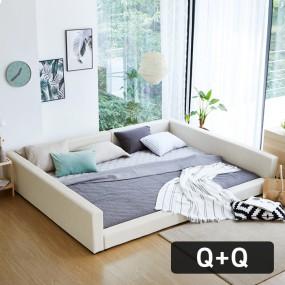 패밀리B형 가드 침대 Q+Q (포켓매트) OT067 이미지