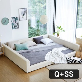 패밀리B형 가드 침대 Q+SS (포켓매트) OT067 이미지