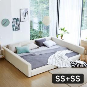 패밀리B형 가드 침대 SS+SS (포켓매트) OT067 이미지