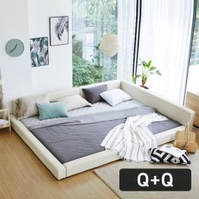 패밀리A형 가드 침대 Q+Q (포켓매트) OT067 이미지