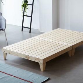소나무 원목 침대 SS (마루형) OT065 이미지