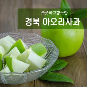 [과일친구]풋풋!!향긋!!여름을느껴라~ 의성 초록사과 2kg(소과,중과) 이미지