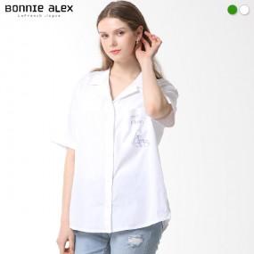 [보니알렉스] 포인트 포켓 오버사이즈 셔츠 이미지