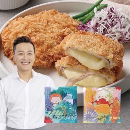 [아자픽] 문천식의 진심 돈까스 등심&치즈 10팩 구성 (총1.4kg) 이미지