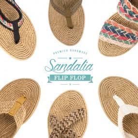 [산달리아] 웨지 쪼리 여름 신발 슬리퍼 샌들 12종 택 1 이미지
