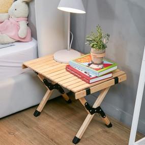 까사마루 자작나무 롤 테이블 S 이미지