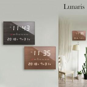 국산 루나리스 FM수신 LED 디지털 전자벽시계 이미지