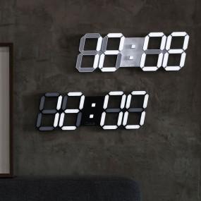 국산 루나리스 3D LED 인테리어 벽시계 LG전구 38cm 이미지
