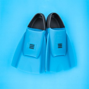 DMC 오리지널 수영 훈련 오리발 숏핀 BLUE ICE 이미지