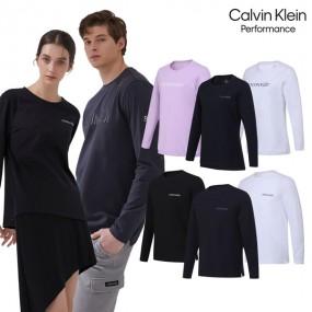 [CKP] 캘빈클라인 퍼포먼스 아이코닉 긴팔 티셔츠 4종 세트 남여 택1 이미지