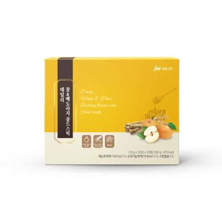 [지팔자][중외생활건강] 데일리 꿀&배도라지 골드스틱 10g x 10포 x 3개입