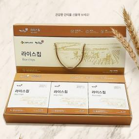 [왕의창고] 저칼로리 쌀과자 그린맥스 라이스칩 20g*30입/박스+무료배송(간장버터맛+흑미누룽지맛+매운카레맛) 이미지