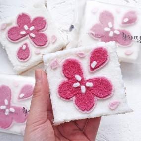 [착한떡] 벚꽃 꿀설기 24개입 이미지