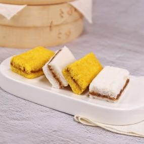 [착한떡] 꿀백설기10개+꿀단호박설기 10개입 이미지