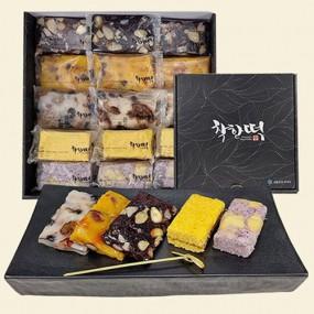 [착한떡] 소담세트 1.35kg (45gx30개) 호박모듬떡, 모듬떡, 흑듬, 블루설기, 꿀단호박 (5종 6개입씩) 이미지